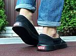 Мужские кеды Vans (черные) B10572 удобная легкая обувь без шнурков, фото 5