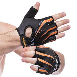 Рукавички для фітнесу HARD TOCH FG-005, розмір S