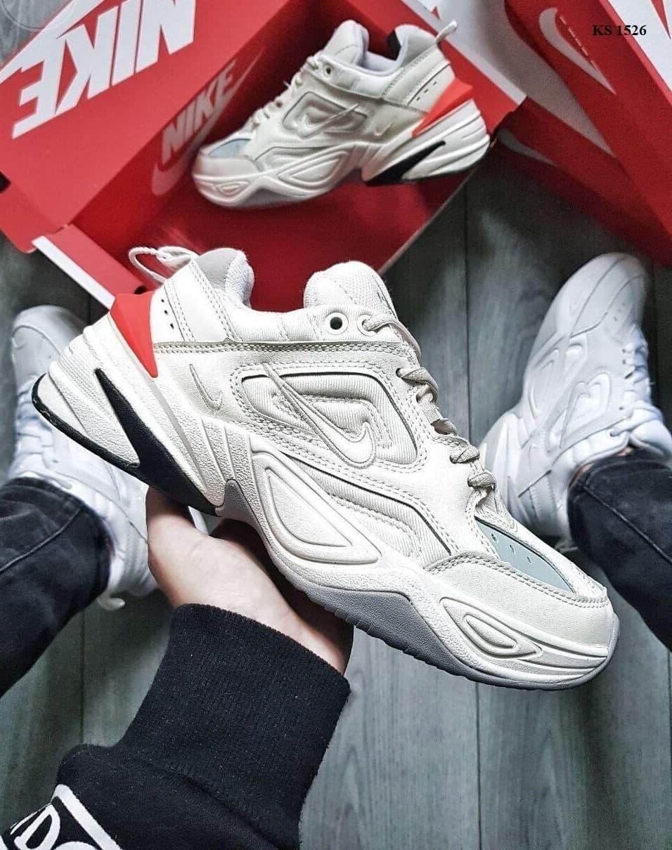 Чоловічі кросівки Nike M2 Tekno (бежеві) крута якісна взуття KS 1526