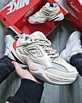 Чоловічі кросівки Nike M2 Tekno (бежеві) крута якісна взуття KS 1526, фото 2