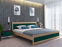 """Двоспальне дерев'яна яні ліжко """"Ліон"""" 160/190 (або 160/200), фото 1"""