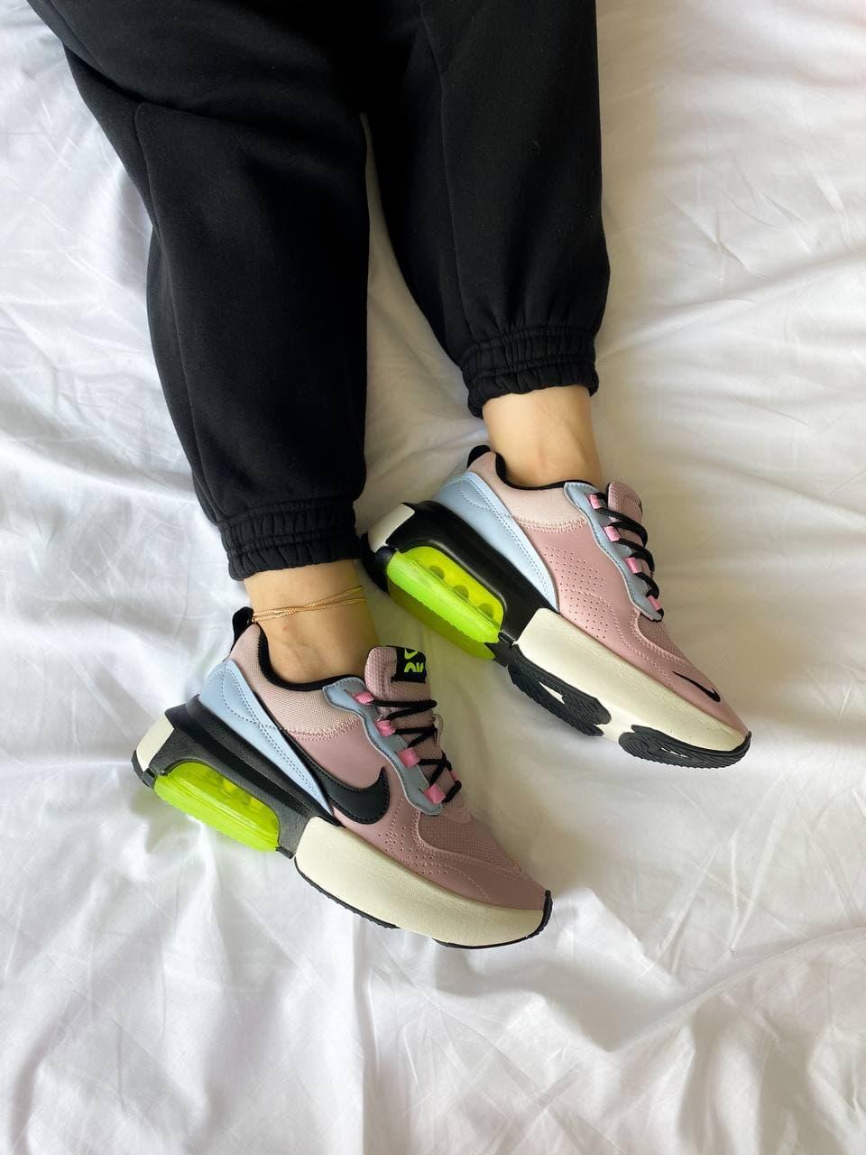 Жіночі кросівки Nike air max verona pink green (рожево-зелені) К4161 стильні кроси