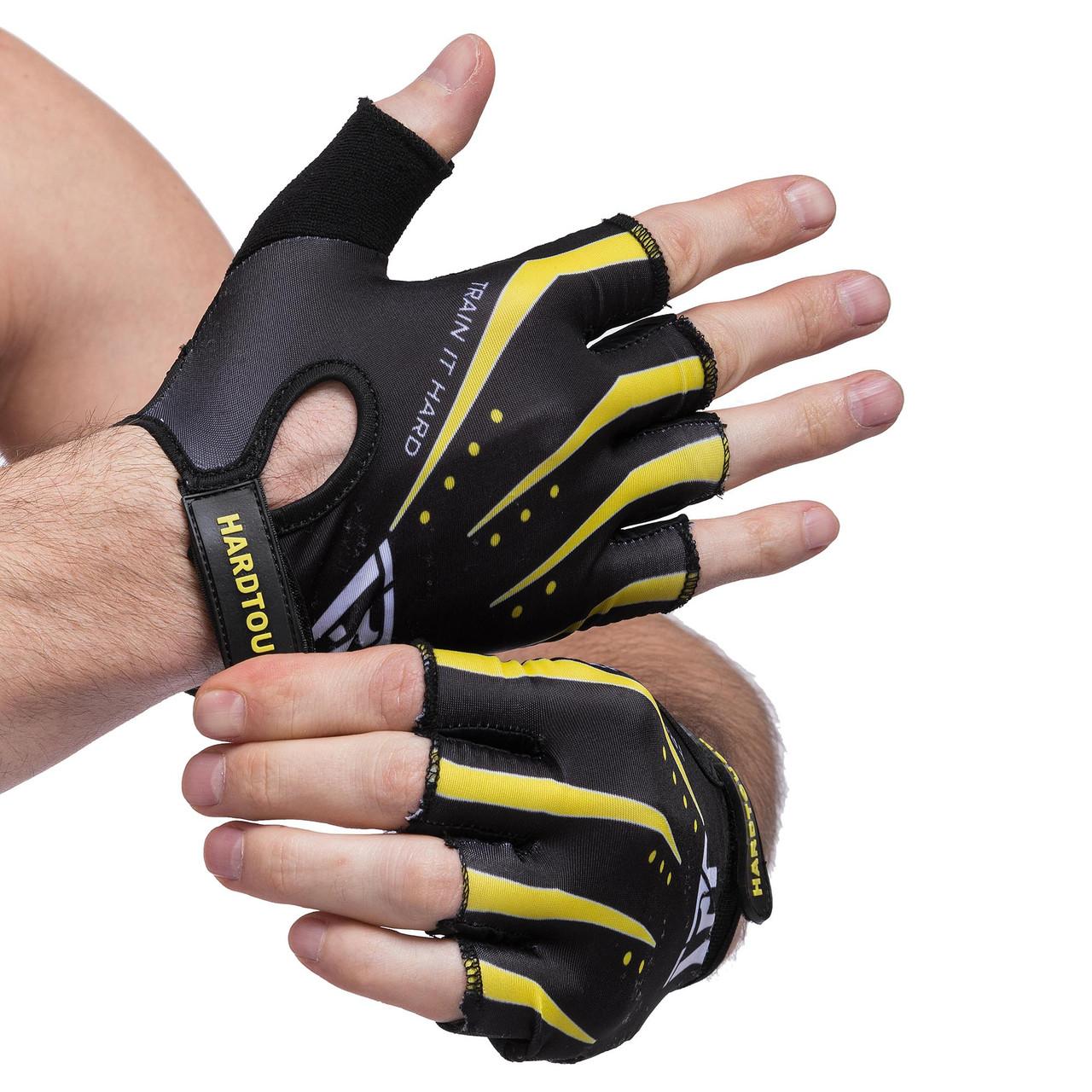 Рукавички для фітнесу HARD TOCH FG-006, розмір S
