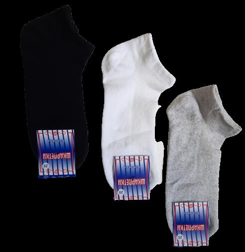 Носки мужские укороченные вставка сеточка р.25 хлопок стрейч Украина. От 12 пар по 6,50грн.