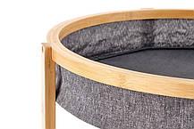 Журнальний стіл EMMA 47х47хх48 сірий (Halmar), фото 2