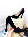 Жіночий класичні туфлі Christian Louboutin на шпильці, каблук чарочка бежеві чорні, фото 2