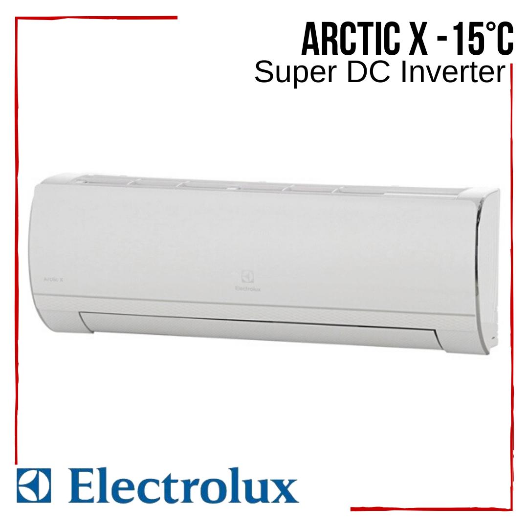 Кондиционер Electrolux с бесплатной доставкой EACS/I-07HAR_X/N3 Arctic X Super DC Inverter -15°С