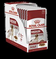 Royal Canin Medium Adult Влажный корм для собак средних пород 10x140 г