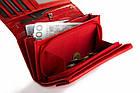 Жіночий шкіряний гаманець Betlewski з RFID 17,5 х 8,5 х 2,5 (BPD-DZ-12)- червоний, фото 3