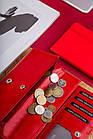 Жіночий шкіряний гаманець Betlewski з RFID 17,5 х 8,5 х 2,5 (BPD-DZ-12)- червоний, фото 6