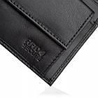 Чоловічий шкіряний гаманець Betlewski з RFID 9,3 х 11 х 2 (BPM-KE-66) - чорний, фото 7