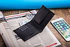 Чоловічий шкіряний гаманець Betlewski з RFID 9,3 х 11 х 2 (BPM-KE-66) - чорний, фото 8