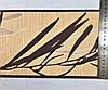 Кант, бордюр обойный 549419, с коричневым растительным узором - ветка, на приглушенном персиковом фоне, фото 4