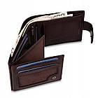 Чоловічий шкіряний гаманець Betlewski з RFID 12 х 9 х 3 (BPM-NVTC-60) - коричневий, фото 3
