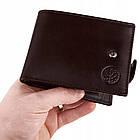 Чоловічий шкіряний гаманець Betlewski з RFID 12 х 9 х 3 (BPM-NVTC-60) - коричневий, фото 4