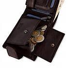 Чоловічий шкіряний гаманець Betlewski з RFID 12 х 9 х 3 (BPM-NVTC-60) - коричневий, фото 7