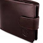 Чоловічий шкіряний гаманець Betlewski з RFID 12 х 9 х 3 (BPM-NVTC-60) - коричневий, фото 8