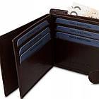 Чоловічий шкіряний гаманець Betlewski з RFID 12 х 9 х 3 (BPM-NVTC-60) - коричневий, фото 9