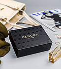 Жіночий шкіряний гаманець Badura з RFID 13 х 9 х 4 (PO_D121GN_CE) - синій, фото 3