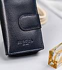 Жіночий шкіряний гаманець Badura з RFID 13 х 9 х 4 (PO_D121GN_CE) - синій, фото 6