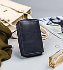 Жіночий шкіряний гаманець Badura з RFID 13 х 9 х 4 (PO_D121GN_CE) - синій, фото 7