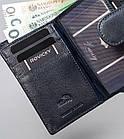 Жіночий шкіряний гаманець Badura з RFID 13 х 9 х 4 (PO_D121GN_CE) - синій, фото 8