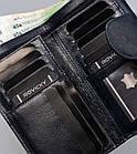 Жіночий шкіряний гаманець Badura з RFID 9,5 х 17,5 х 3,3 (PO_D116GN_CE) - синій, фото 6