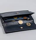 Жіночий шкіряний гаманець Badura з RFID 9,5 х 17,5 х 3,3 (PO_D116GN_CE) - синій, фото 8