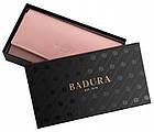 Жіночий шкіряний гаманець Badura з RFID 10 х 18,5 х 3,5 (PO_D114SA_CE) - рожевий, фото 2