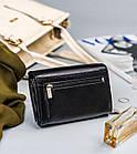 Жіночий шкіряний гаманець Badura з RFID 10 х 13 х 4 (PO_D111CZ_CE) - чорний, фото 2