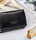 Жіночий шкіряний гаманець Badura з RFID 10 х 13 х 4 (PO_D111CZ_CE) - чорний, фото 7