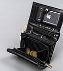 Жіночий шкіряний гаманець Badura з RFID 10 х 13 х 4 (PO_D111CZ_CE) - чорний, фото 8
