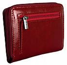 Жіночий шкіряний гаманець Badura з RFID 9,5 х 11 х 2,5 (B-41375P-BPR) - червоний, фото 4