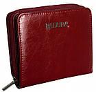 Жіночий шкіряний гаманець Badura з RFID 9,5 х 11 х 2,5 (B-41375P-BPR) - червоний, фото 6