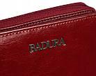 Жіночий шкіряний гаманець Badura з RFID 9,5 х 11 х 2,5 (B-41375P-BPR) - червоний, фото 7