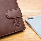 Чоловічий шкіряний гаманець Betlewski з RFID 9,6 х 12,5 х 2,5 (BPM-GTAN-60) - коричневий, фото 8