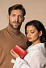 Жіночий шкіряний гаманець Betlewski з RFID 13 х 9 х 3,5 (BPD-DZ-11)- червоний, фото 5