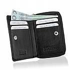 Жіночий шкіряний гаманець Betlewski з RFID 10,5 х 8 х 2 (BPD-SS-20) - чорний, фото 3