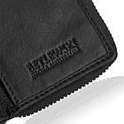 Жіночий шкіряний гаманець Betlewski з RFID 10,5 х 8 х 2 (BPD-SS-20) - чорний, фото 6