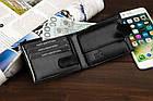 Чоловічий шкіряний гаманець Betlewski з RFID 12 х 9,2 х 2,5 (BPM-BF-63) - чорний, фото 6