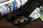 Чоловічий шкіряний гаманець Betlewski з RFID 12 х 9,2 х 2,5 (BPM-BF-63) - чорний, фото 7