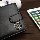 Чоловічий шкіряний гаманець Betlewski з RFID 12 х 9,2 х 2,5 (BPM-BF-63) - чорний, фото 8