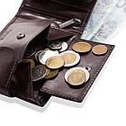 Чоловічий шкіряний гаманець Betlewski з RFID 12 х 9 х 3 (BPM-VTC-60) - коричневий, фото 3