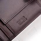 Чоловічий шкіряний гаманець Betlewski з RFID 12 х 9 х 3 (BPM-VTC-60) - коричневий, фото 7