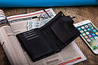 Чоловічий шкіряний гаманець Betlewski з RFID 9,5 х 13 х 2,5 (BPM-KE-64) - чорний, фото 8