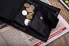 Чоловічий шкіряний гаманець Betlewski з RFID 9,5 х 13 х 2,5 (BPM-KE-64) - чорний, фото 10
