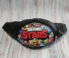 Stars детская сумка бананка на пояс старс черный