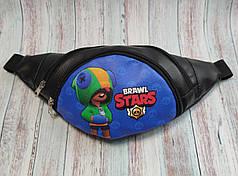 Stars детская сумка бананка на пояс старс Леон синий фон