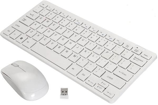 Комплект бездротова клавіатура і миша K03 для комп'ютера із захисною плівкою