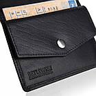 Чоловічий шкіряний гаманець Betlewski з RFID 12 х 9,5 х 1 (BPM-BH-M3) - чорний, фото 3